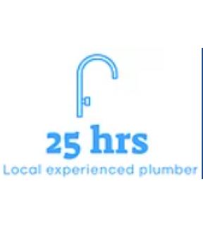 25 Hrs Plumber