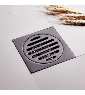 Aesthetic Luxurious Modern Style Single Purpose Floor Drain Home Bathroom Toilet Floor Trap (FJSQ)
