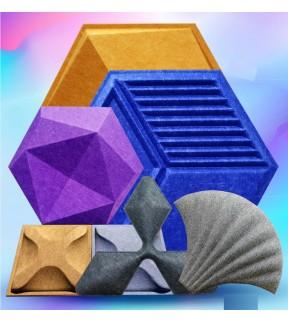 3D Polyester Acoustic Panel (TJ)