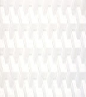 White Mosaic Faux Marble Wall Tile in Cubic Style